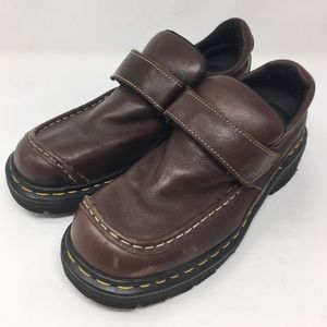 DR. MARTENS | 9288 Velcro loafers brown leather